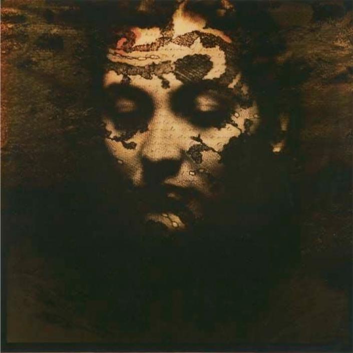 Luis González Palma - Viviendo en Silencio (Living in Silence), 1997, Kodalith, collage, 20 by 20 inches unframed, edition of 15