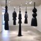 Merryn Omotayo Alaka and Sam Fresquez - It's Mine, I Bought It (SOLD), 2018-2020, Kanekalon hair and braid clamps, dimensions variable