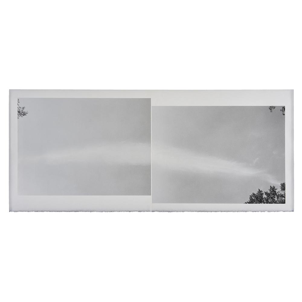 Marie Navarre - rending...mending, 2020, archival digital print on Surface Gampi, Rives BFK, 18.5 x 42.75 inches unframed