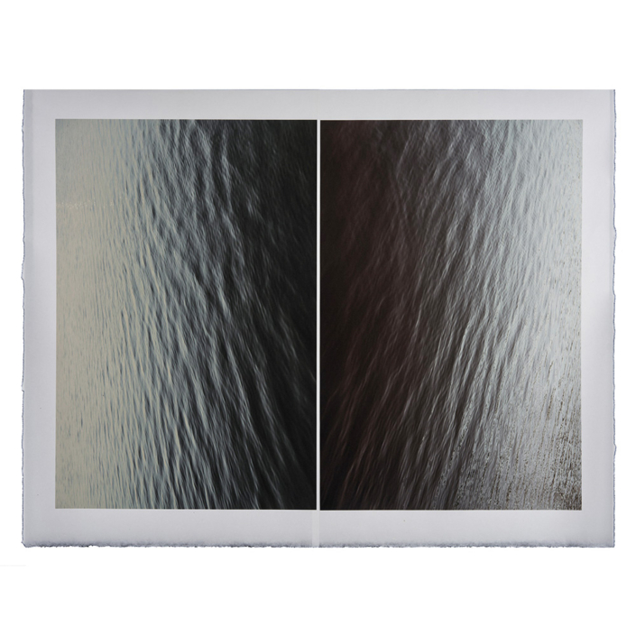 Marie Navarre - from an ancient well (thank you, Abdullah Ibrahim), 2020, archival digital print on Surface Gampi, Rives BFK, 30 x 38.125 inches unframed