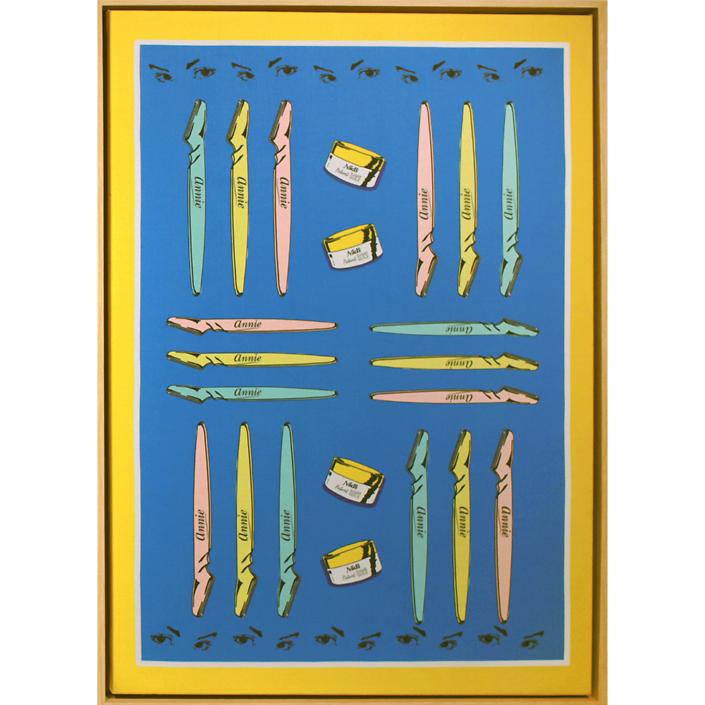 Merryn Omotayo Alaka & Sam Fresquez - It's God Given, 2021, digital print on linen, 33 by 23 inches framed