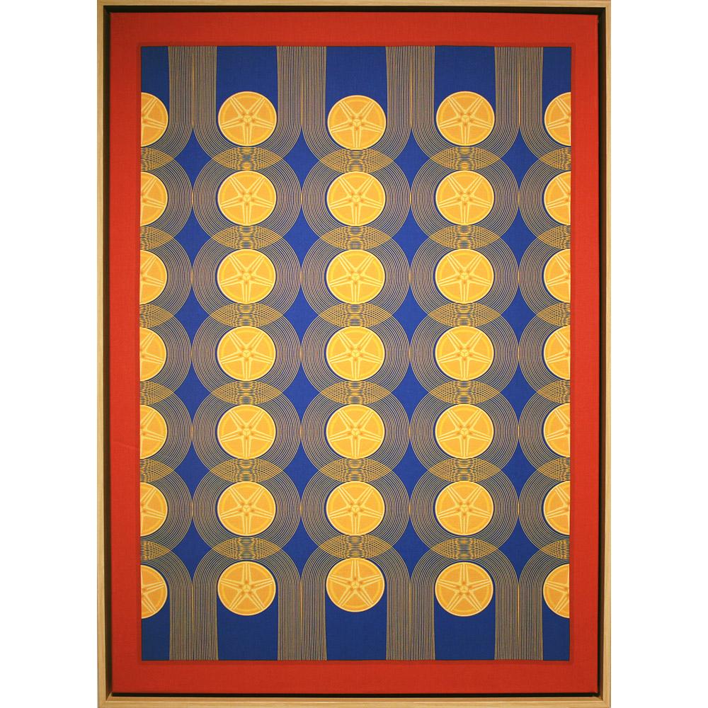Merryn Omotayo Alaka & Sam Fresquez - Stuntin' You (SOLD), 2021, digital print on linen, 33 by 23 inches framed
