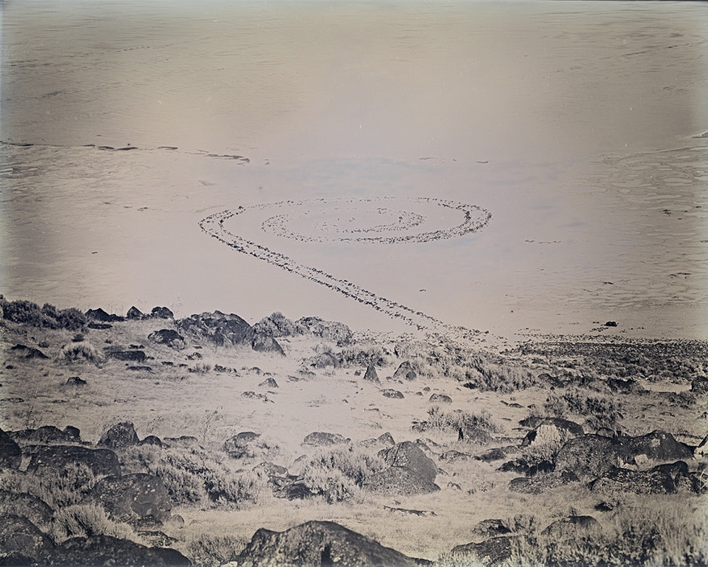 Binh Danh - Spiral Jetty, Utah (#4), 2017, daguerreotype, 8 by 10 inches plate, unique